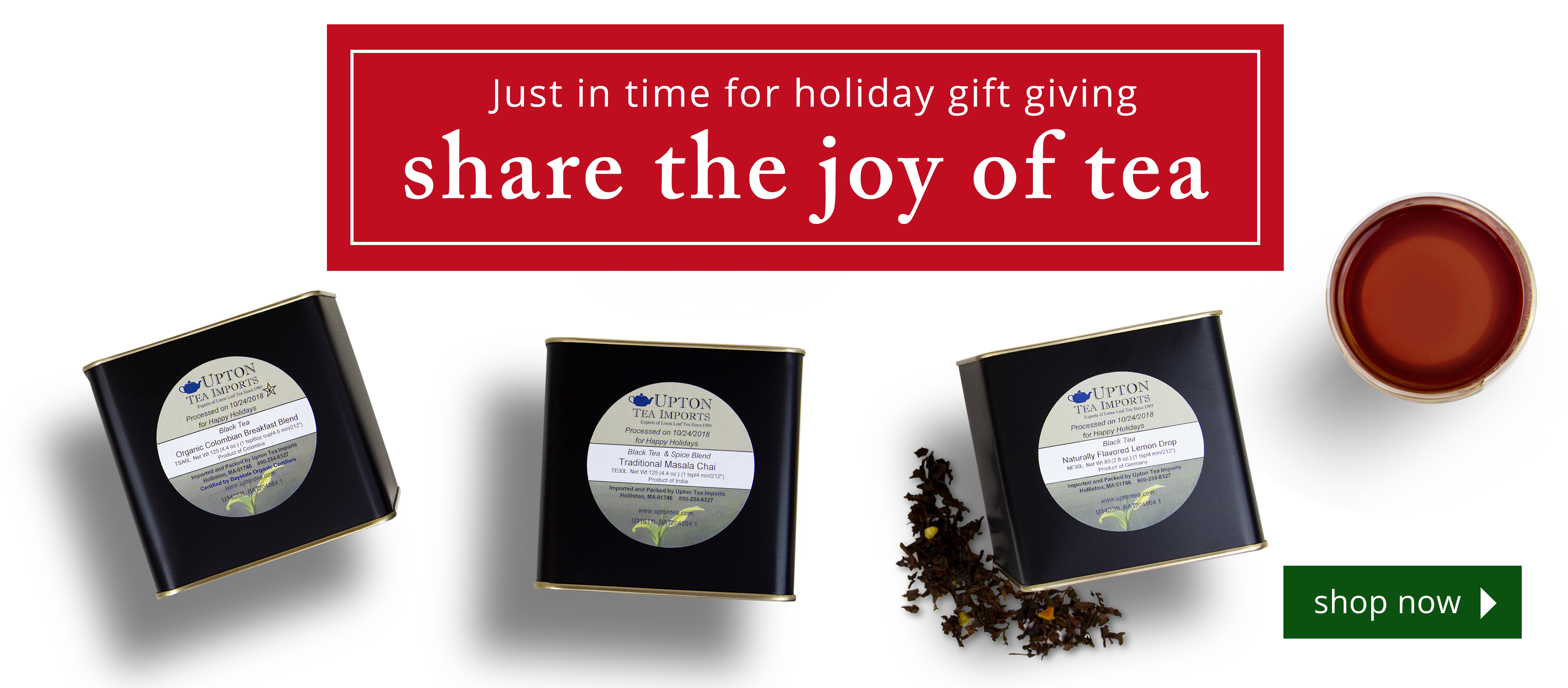 Share the joy of tea!
