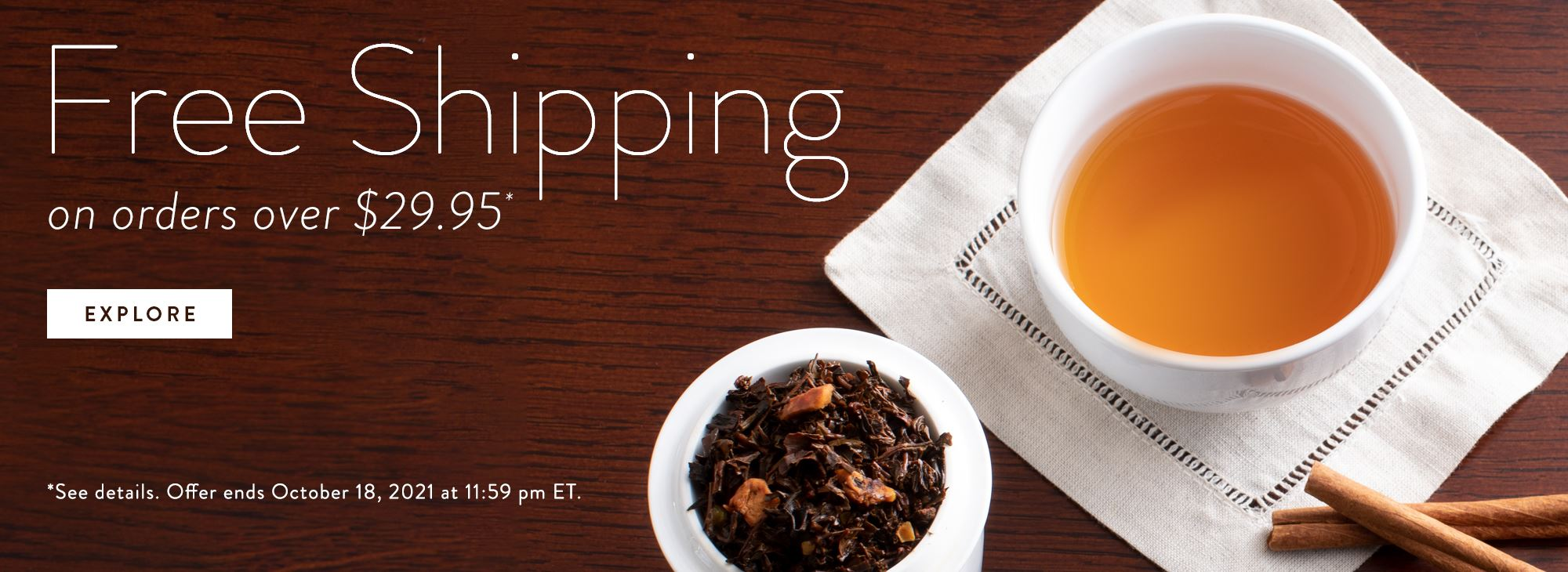 Free Shipping on Orders over $29.95