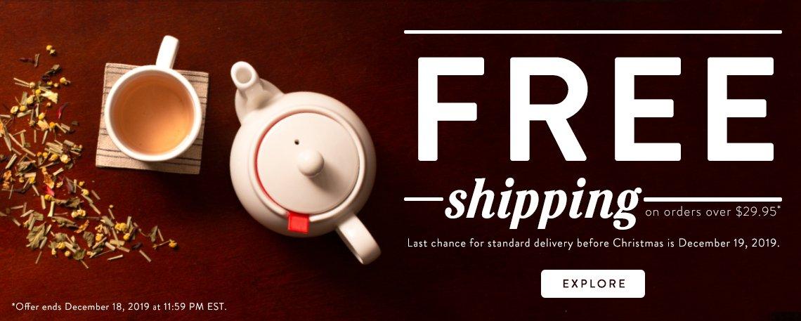 Upton Tea Free Shipping
