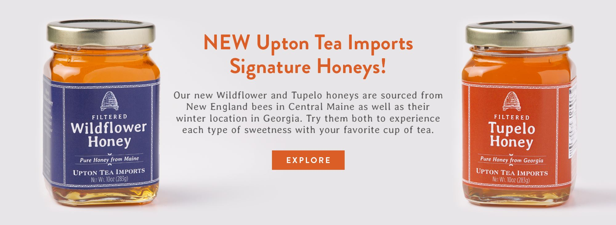 NEW Upton Tea Imports Signature Honeys