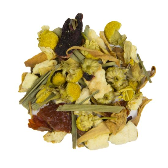 Chamomile Hibiscus loose leaf herbal tea