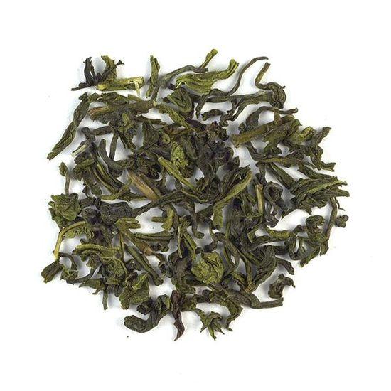 loose leaf Darjeeling green tea