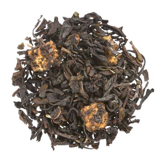 Peach loose leaf black tea