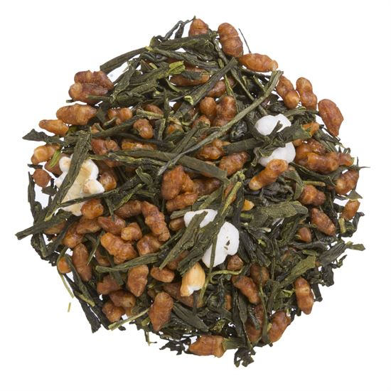 Gen-mai Cha organic loose leaf green tea