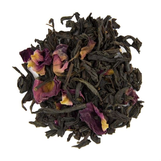 Loose leaf rose Congou black tea