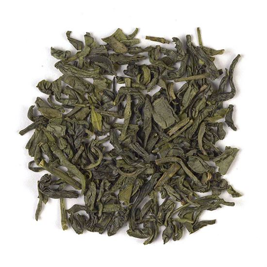 loose leaf Young Hyson China green tea