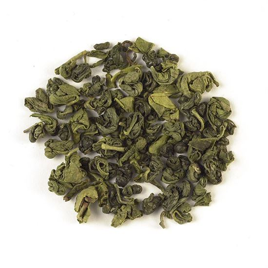 China organic loose leaf green tea