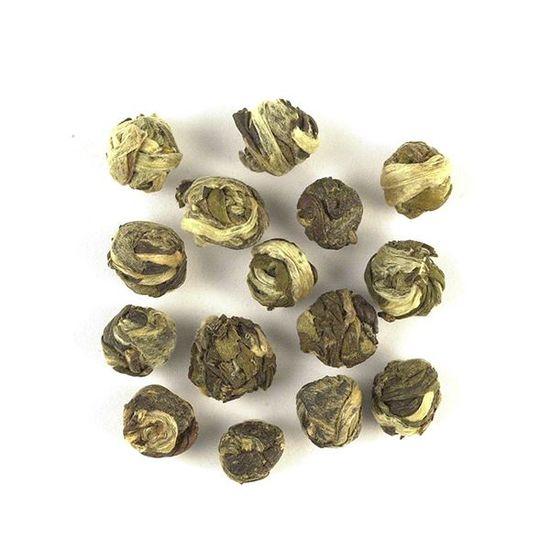 Jasmine Pearl loose leaf green tea