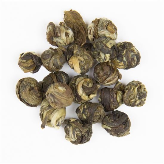 Jasmine Pearl organic loose leaf green tea