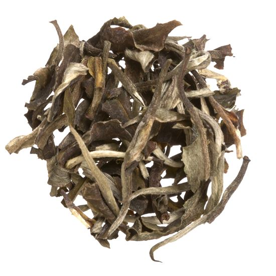 China organic loose leaf white tea