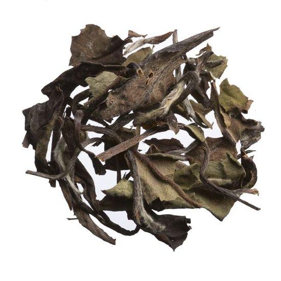 loose leaf special grade shou mei white tea