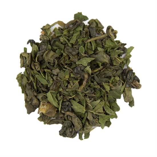 Mint loose leaf green tea
