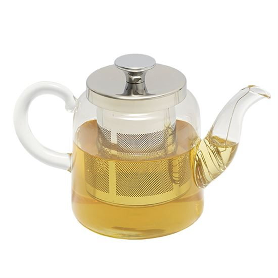 Glass Teapot (17 FL OZ)