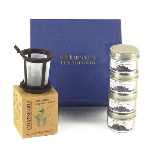 mug infuser and loose leaf tea