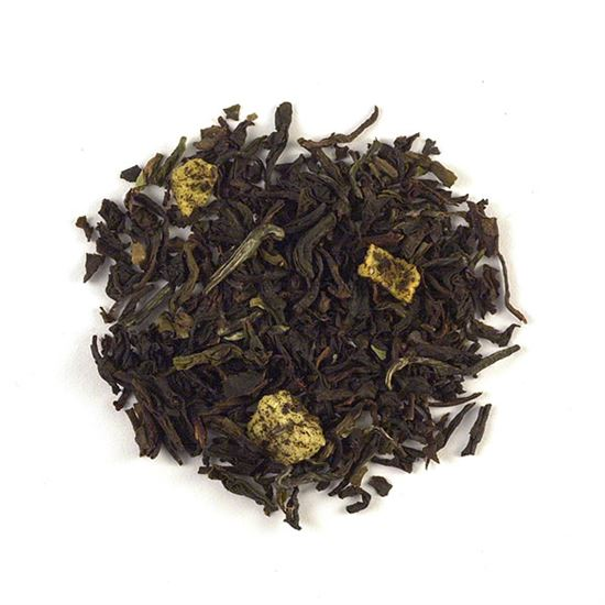 Peach loose leaf black tea