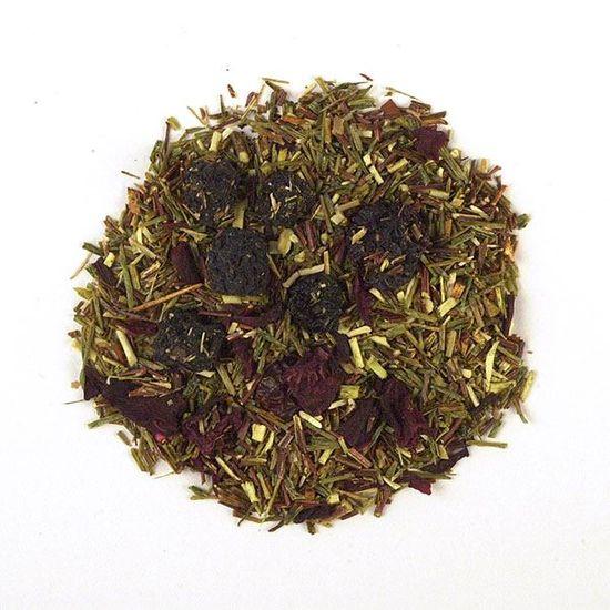 Blueberry Rooibos loose leaf herbal tea