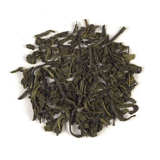 Java loose leaf green tea