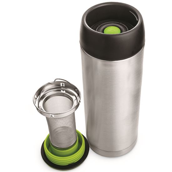 Steel Travel Mug Stainless With Infuser doxBreCW
