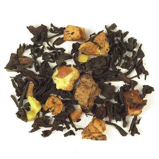 loose leaf new england harvest blend tea