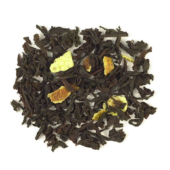 Lemon loose leaf black tea