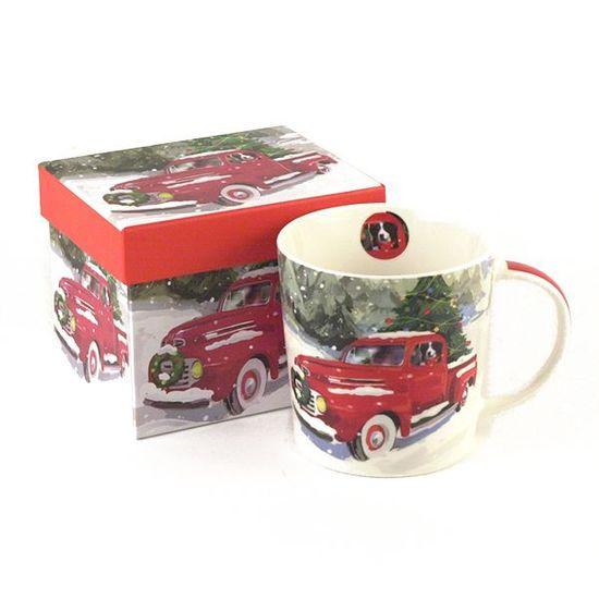 ceramic tea mug with gift box