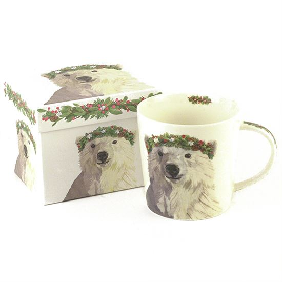 ceramic tea mug with gift box