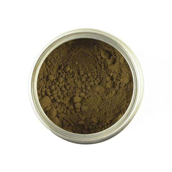 powdered loose leaf green tea