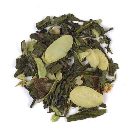 loose leaf flavored green tea