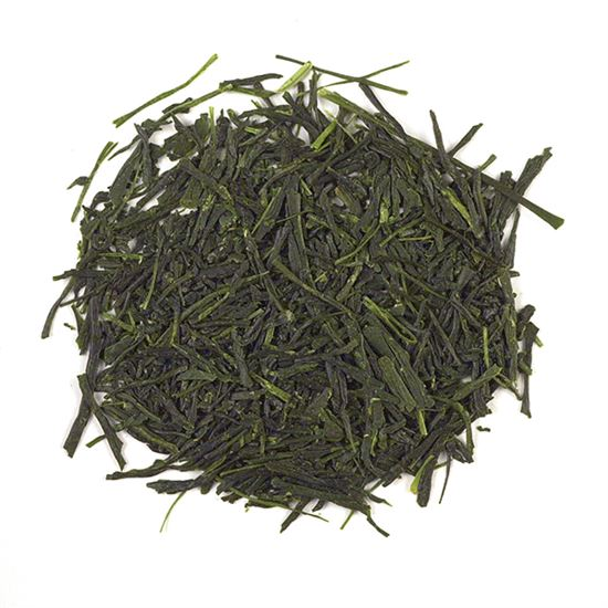 loose leaf Japanese green tea
