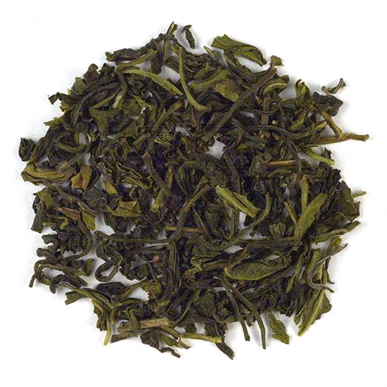 loose leaf Darjeeling green tea