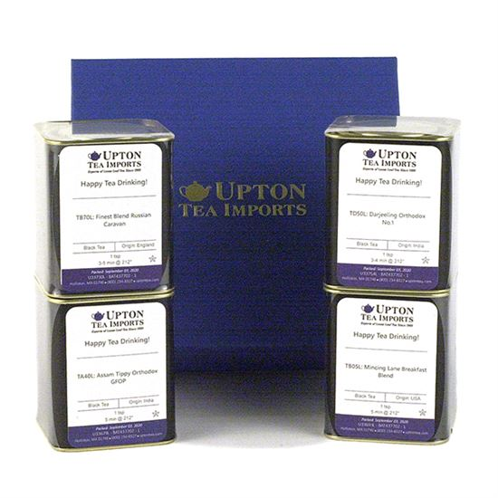 loose leaf tea in tins gift set