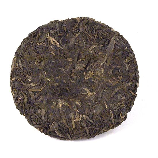 loose leaf Pu-Erh tea cake