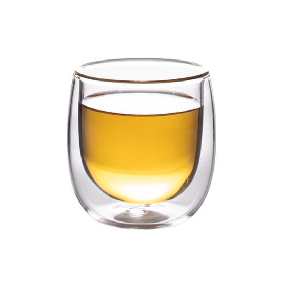 Finum Double Wall Glass Cup, 5 oz.