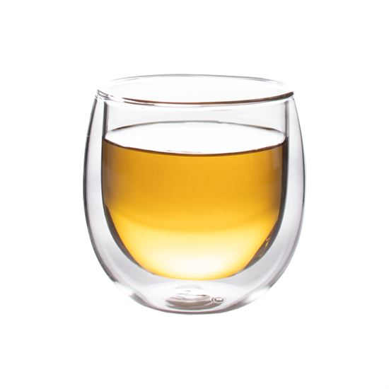 Finum Double Wall Glass Cup, 8 oz.