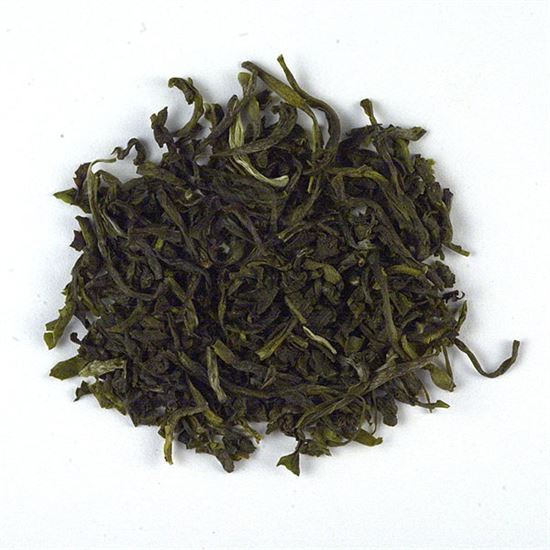 Colombian organic loose leaf green tea